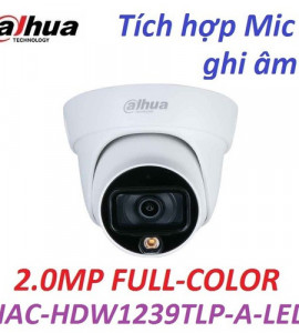 CAMERA DH-HAC-HDW1239TLP-A-LED