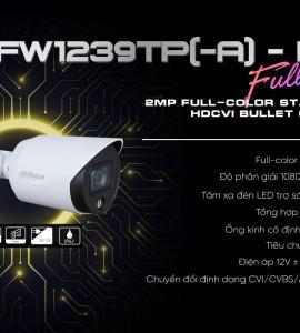 CAMERA DH-HAC-HFW1239TP-A-LED