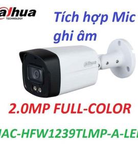 Camera DH-HAC-HFW1239TLMP-A-LED