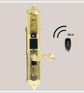 Khóa cửa thông minh PHGLock – FP3251W – Màu – Vàng,  DAB